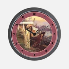 Cute Orientalist art Wall Clock