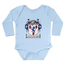 Adair Coat of Arms Long Sleeve Infant Bodysuit