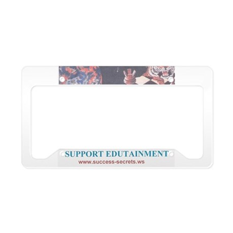 EDUTAINMENT....License Plate Holder