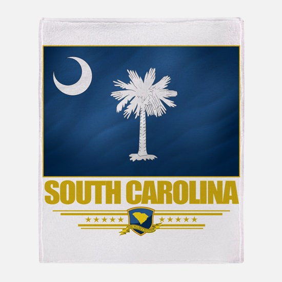 South Carolina Pride Throw Blanket