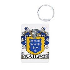 Bailey Coat of Arms Aluminum Photo Keychain
