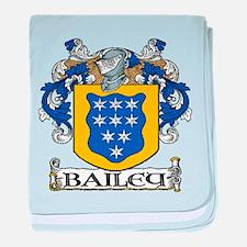 Bailey Coat of Arms baby blanket