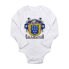 Bailey Coat of Arms Long Sleeve Infant Bodysuit