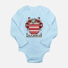 Barry Coat of Arms Long Sleeve Infant Bodysuit