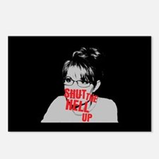 """""""Shut Up, Palin"""" Postcards (Package of 8)"""