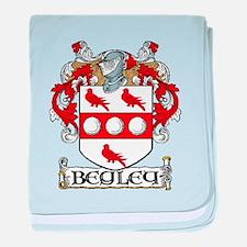 Begley Coat of Arms baby blanket