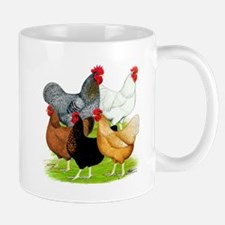 Sex-link Chicken Quintet Mug