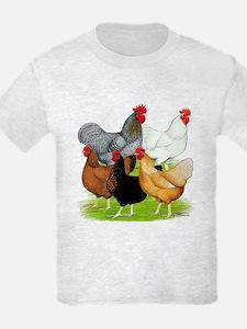 Sex-link Chicken Quintet T-Shirt