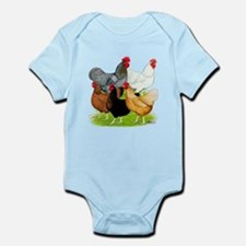 Sex-link Chicken Quintet Infant Bodysuit