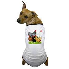 Sex-link Chicken Quintet Dog T-Shirt