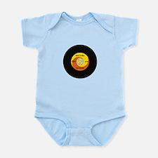 45 RPM Rock n Roll Record Infant Bodysuit