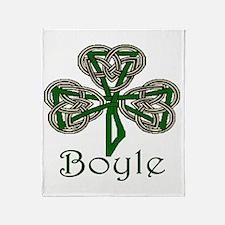 Boyle Shamrock Throw Blanket