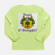 Boyle in Irish/English Long Sleeve Infant T-Shirt