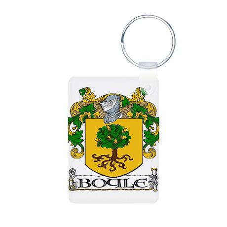 Boyle Coat of Arms Aluminum Photo Keychain