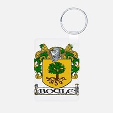 Boyle Coat of Arms Aluminum Photo Keychain