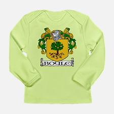 Boyle Coat of Arms Long Sleeve Infant T-Shirt