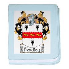 Bradley Coat of Arms baby blanket