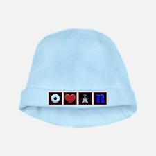 I Love Flying baby hat