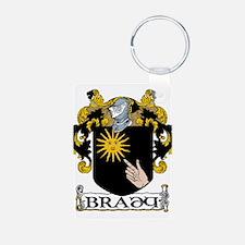 Brady Coat of Arms Keychains