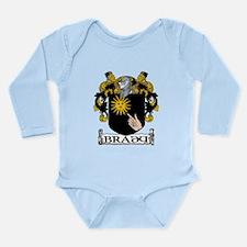 Brady Coat of Arms Long Sleeve Infant Bodysuit
