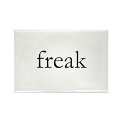 Freak Rectangle Magnet (10 pack)