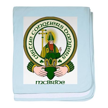 McBride Clan Motto baby blanket