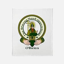 O'Brien Clan Motto Throw Blanket