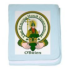 O'Brien Clan Motto baby blanket