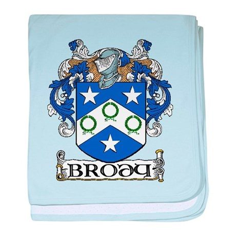 Brody Coat of Arms baby blanket