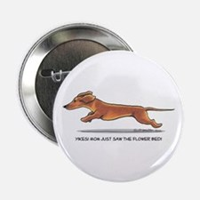 "Dachshund Mom Funny 2.25"" Button"