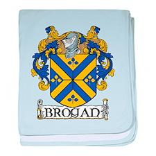 Brogan Coat of Arms baby blanket