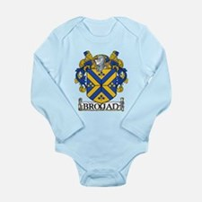 Brogan Coat of Arms Long Sleeve Infant Bodysuit