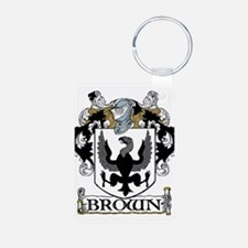 Brown Coat of Arms Keychains