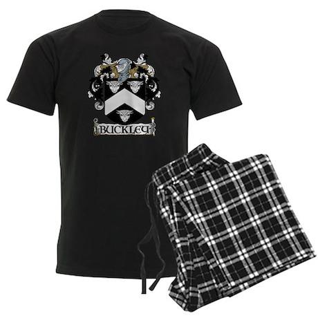 Buckley Coat of Arms Men's Dark Pajamas