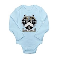 Buckley Coat of Arms Long Sleeve Infant Bodysuit
