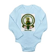 Buckley Clan Motto Long Sleeve Infant Bodysuit