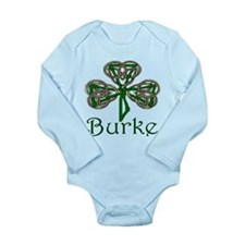 Burke Shamrock Long Sleeve Infant Bodysuit