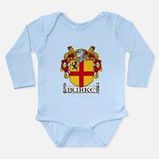 Burke Coat of Arms Long Sleeve Infant Bodysuit