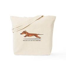 Dachshund Dad Funny Tote Bag