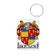 Butler Coat of Arms Aluminum Photo Keychain