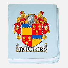 Butler Coat of Arms baby blanket