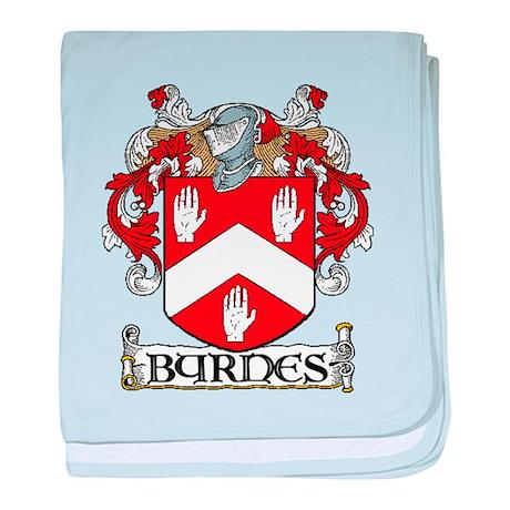 Byrnes Coat of Arms baby blanket