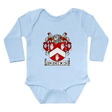 Byrnes Coat of Arms Long Sleeve Infant Bodysuit