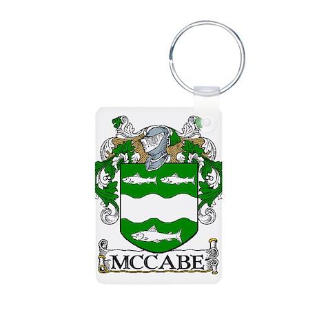 McCabe Coat of Arms Aluminum Photo Keychain