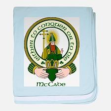 McCabe Clan Motto baby blanket