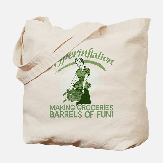 Hyperinflation Tote Bag