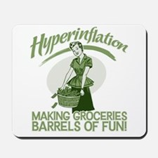 Hyperinflation Mousepad