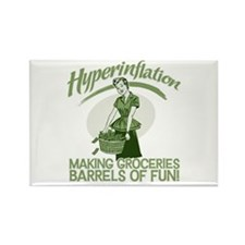Hyperinflation Rectangle Magnet