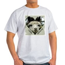 Alpacas Ash Grey T-Shirt