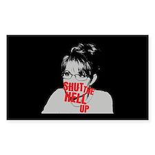 """""""Shut Up, Palin"""" Decal"""